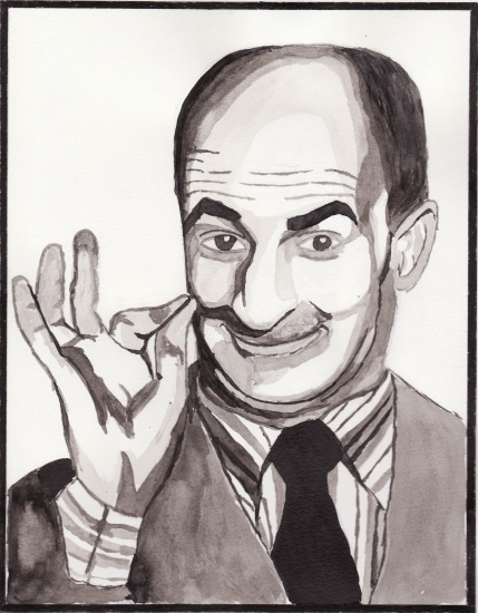 Louis de Funès by man0n